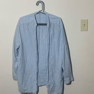 Zara striped button up